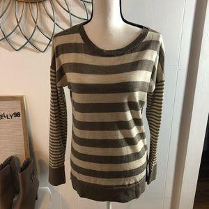 Banana Republic Merino Wool Striped Sweater